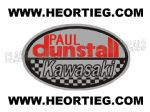 Paul Dunstall Kawasaki Tank and Fairing Transfer Decal DDUN7-3